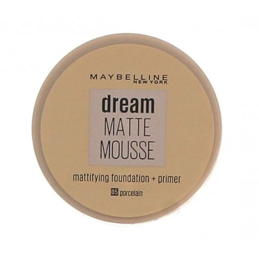 Maybelline Dream Matte Mousse Mattifying Foundation + Primer
