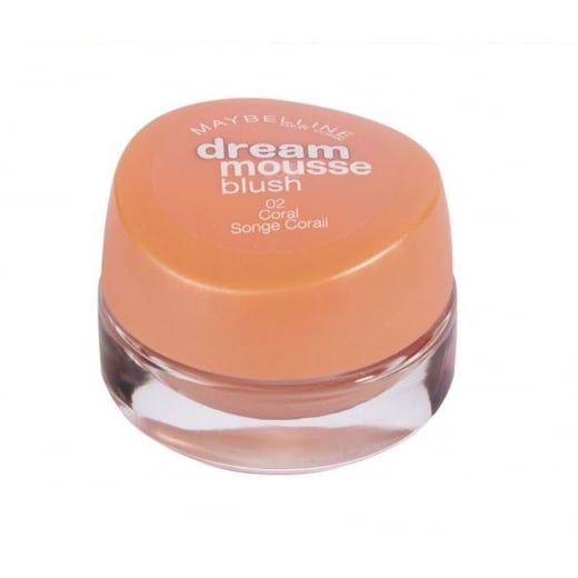 Maybelline Dream Mousse Blush - 02 Coral
