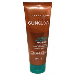 Dream Sunglow Instant Bronzing  Make-up Fake Tan Fair Skintones Matte