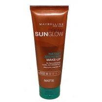 Dream Sunglow Instant Bronzing  Makeup Fake Tan Medium Skintone Matte