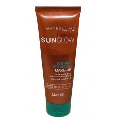 Dream Sunglow Instant Bronzing  Makeup Fake Tan Medium Skintone Matte