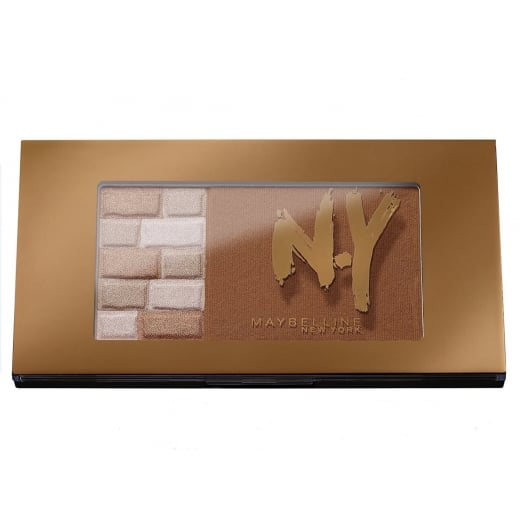 Maybelline FaceStudio Bricks Bronzer - 02 Brunettes