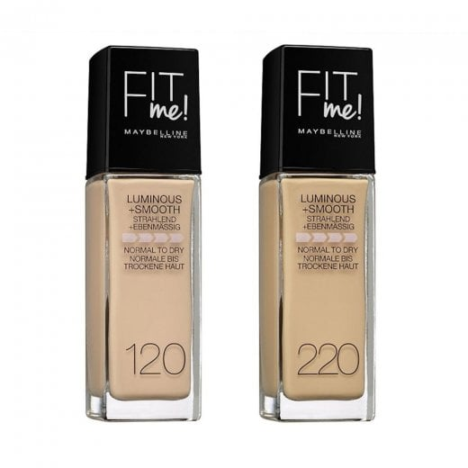 Maybelline Fit Me Luminous & Smooth Foundation