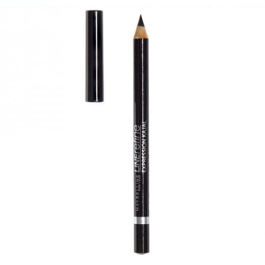 Maybelline Line Refine Expression Waterproof Kajal Eyeliner - 33 Black