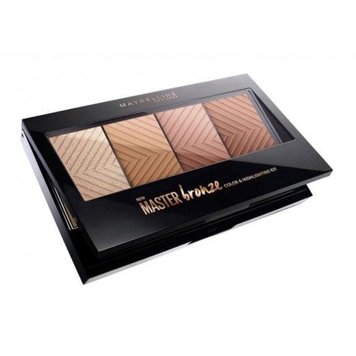Maybelline Master Bronze Color & Highlighter Palette