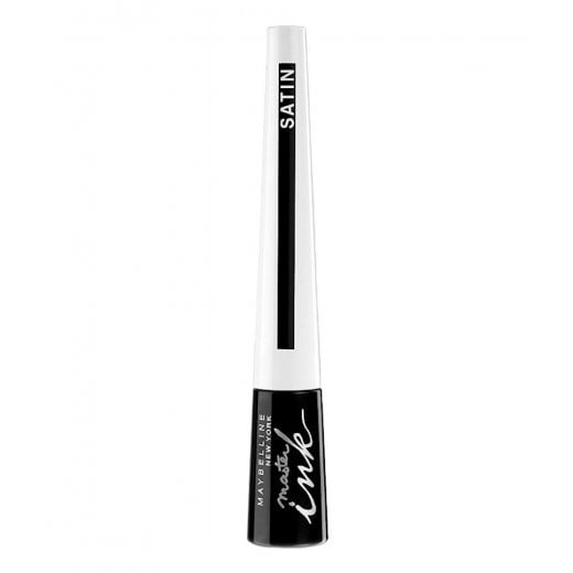Maybelline Master Ink Satin Liquid Eyeliner - 01 Luminous Black