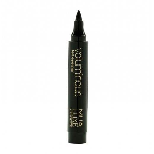 MUA Luxe Voluminous Felt Eyeliner - Black