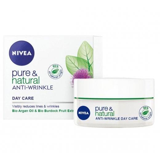 Nivea Pure & Natural Anti-Wrinkle Day Cream