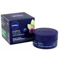Nivea Pure & Natural Anti-Wrinkle Night Cream