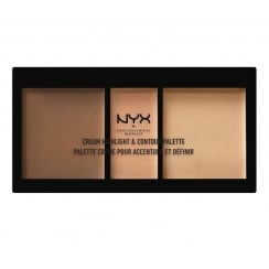 NYX Cream Highlight & Contour Palette - 02 Medium