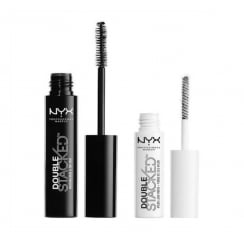 NYX Double Stacked Mascara & Lash Fiber Duo