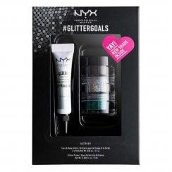 NYX #GlitterGoals Glitter Set