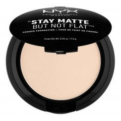 NYX Stay Matte But Not Flat Powder Foundation - 1 Alabaster