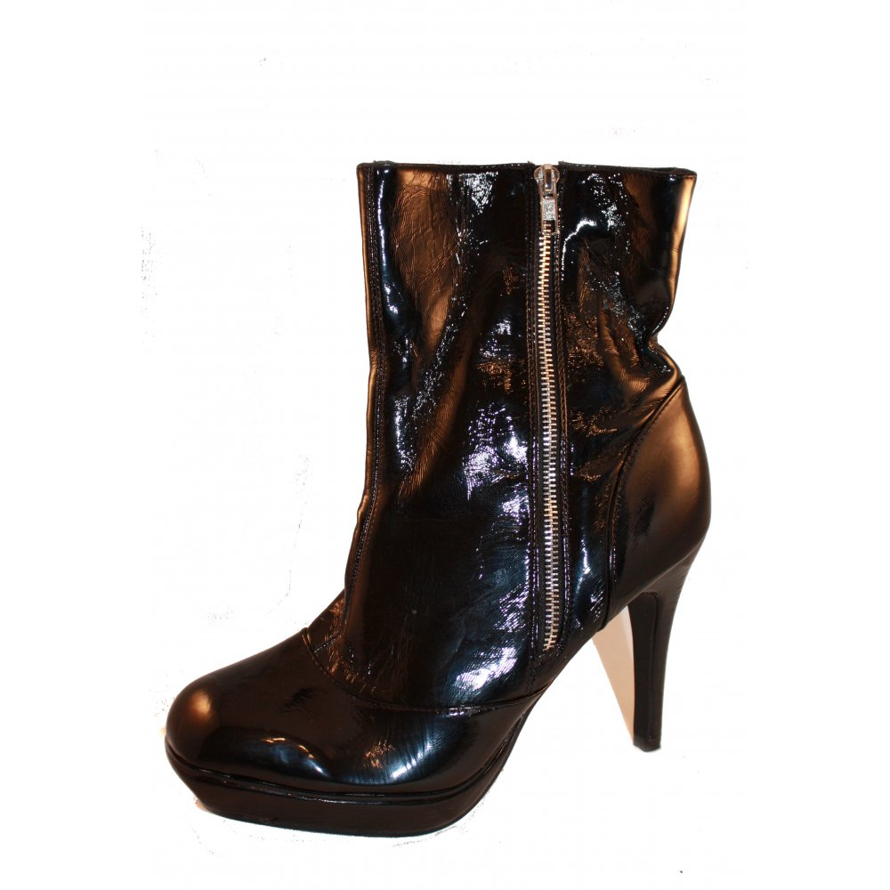 Ladies Stunning Chunky Heel Cleated Sole Slip On Wedge Platform Heel Ankle Boots Shoes. Inspired from the cleated sole ankle boots version by popular demand. These platform boots are .