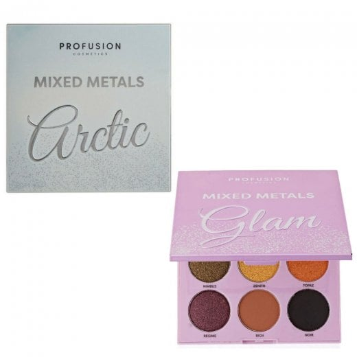 Profusion Mixed Metals 9 Shade Eyeshadow Palette
