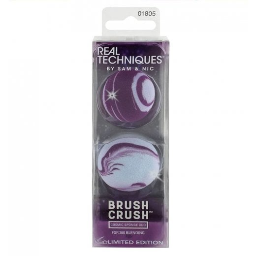 Real Techniques Brush Crush - Cosmic Sponge Duo 01805