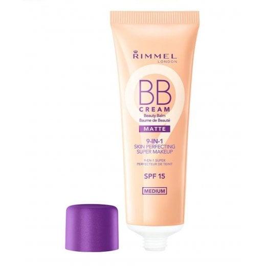 Rimmel 9 in 1 Skin Perfecting Matte BB Cream- Medium