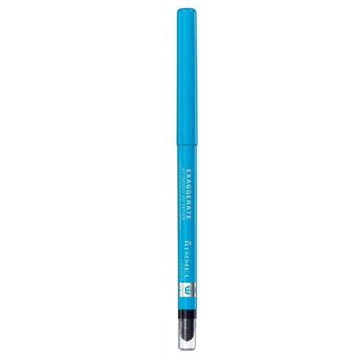 Rimmel Exaggerate Waterproof Eye Definer Pencil - 240 Aqua Sparkle