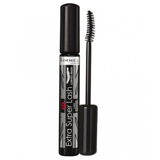 Rimmel Extra Super Lash Curved Brush Mascara - 101 Black Black