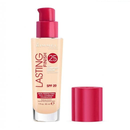 Rimmel Lasting Finish 25hr Foundation With Comfort Serum - 100 Ivory