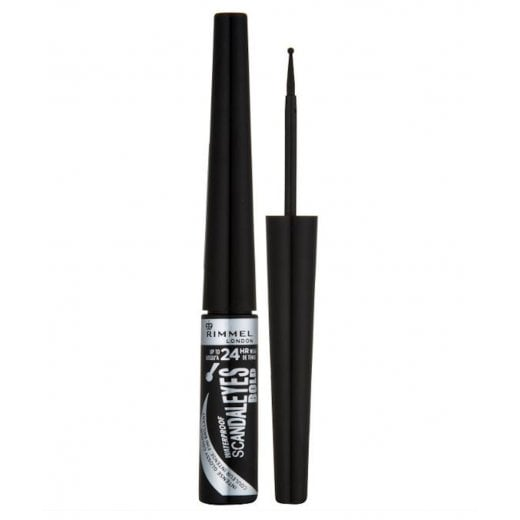 Rimmel Scandaleyes Bold Liquid Eyeliner - Intense Black