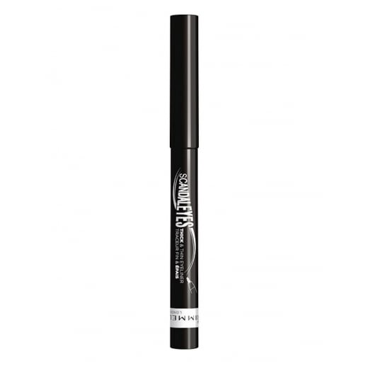 Rimmel Scandaleyes Thick & Thin Waterproof Eyeliner - 001 Black