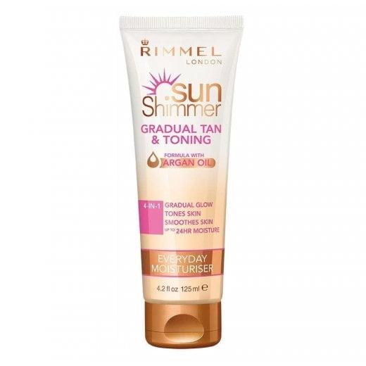 Rimmel Sun Shimmer Gradual Tan & Toning Moisturiser
