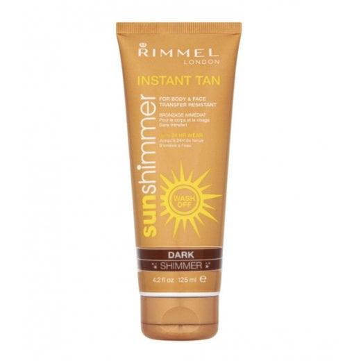 Rimmel Sun Shimmer Instant Tan - Dark Shimmer