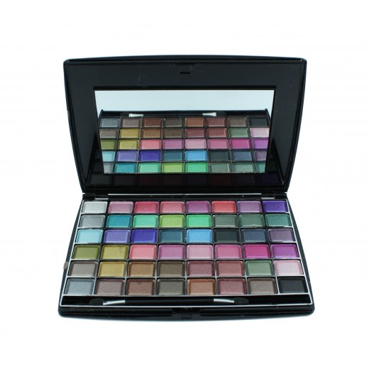 Saffron 48 Colour Cream Eyeshadow Palette Make Up Gift Set Kit - S8048