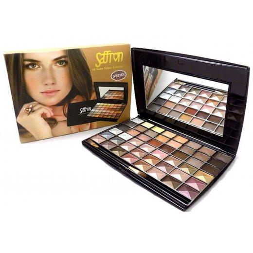 Saffron 48 Colour Nude Shades Eyeshadow Palette Set - 8049