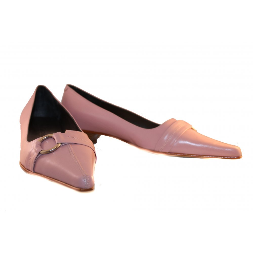 shoes galore soft pink flat shoes by shoes galore