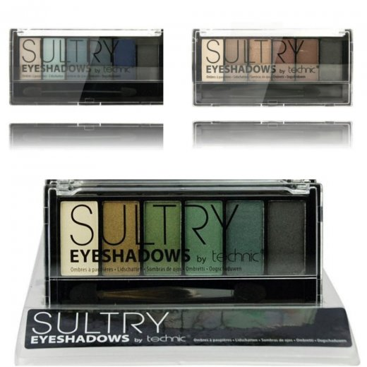 Technic 6 Piece Sultry Eye Shadow Palette Set