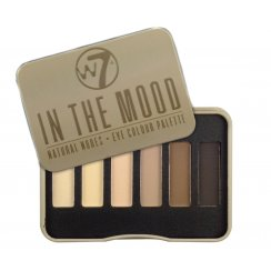 W7 In The Mood Natural Nudes Eyeshadow Palette