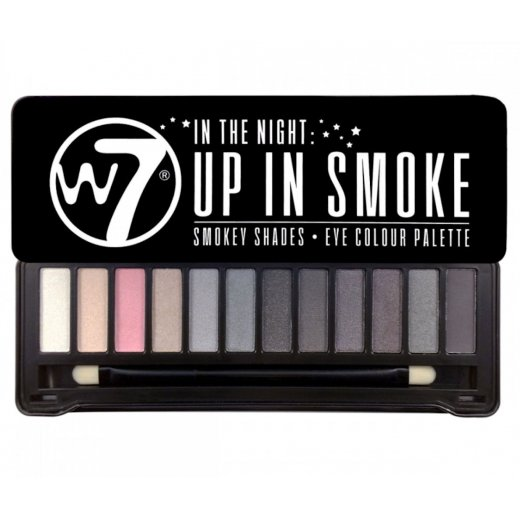 W7 In the Night Up In Smoke Smokey Shades Eyeshadow Palette