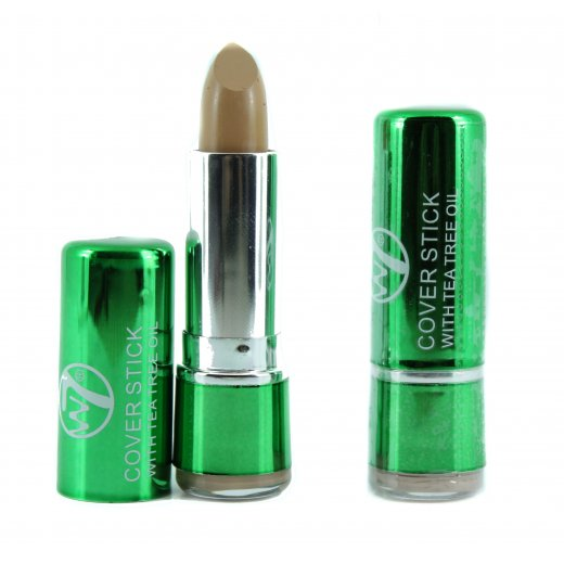 W7 Tea Tree Concealer Cover Stick  For Spots & Blemishes