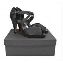 Womens John Lewis Moonstone Platform Silver Shoes